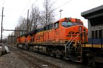 BNSF 7519 second on K141